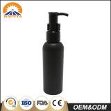 Mini bottiglia cosmetica di plastica nera per cura personale
