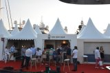 Tenda potabile dell'alto picco del Pagoda per l'evento, fiera commerciale, ricorso