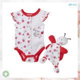Ropa para bebés de 0 cuellos Set Baby Onesie para bebés