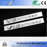 Стикер этикеты значка эмблемы V8 V12 Biturbo автомобиля ABS автоматический