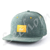 Tampão novo tecido Snapback do esporte da era da forma de Oxford Applicate do Chambray
