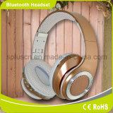 Шум отменяя наушники радиотелеграфа Bluetooth типа держателя функции NFC и разъемов USB складные