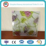 3D Decoratieve Glas van het Patroon van de Bloemen van de Vlinder van het Ontwerp van Af:drukken Nieuwe