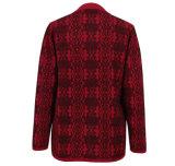 Yacs Gn1534 y suéter hecho punto mezclado lanas para las mujeres