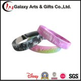 Wristband poco costoso all'ingrosso del silicone stampato abitudine