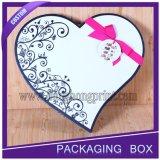 Caja de regalo del chocolate de la boda de la venta superior de la cartulina