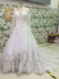 Nuevas alineadas del grano/de la perla/de boda del Rhinestone con Appliques