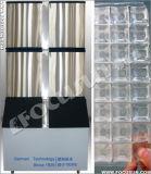 Cristal - máquina de gelo comestível desobstruída do cubo para restaurantes