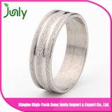 Anillos baratos de las mujeres de la talla del anillo de bodas del dedo de la manera