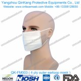 3 quirúrgicos disponibles manejan la mascarilla no tejida Bfe95 Qk-FM001