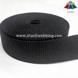 Webbing хлопка 3cm черный плоский чисто для планки Yogga или планки несущей младенца