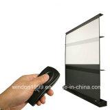無光沢の白い電気プロジェクタースクリーン、中国の製造業者