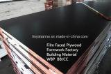 Madera contrachapada hecha frente/Shuttering de la película para el grado de la fábrica BB/CC del encofrado