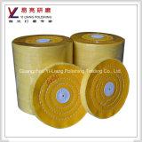卸売価格の良質の黄色の飛行車輪の研磨布