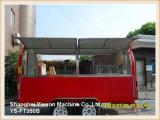 Rimorchio mobile del camion dell'alimento della cucina di alta qualità di Ys-FT350b grande
