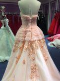 Шикарное платье вечера для венчания и выпускного вечера