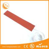 Esteira flexível do aquecimento do silicone do calefator 230V da borracha de silicone