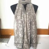 Der neues Schal Inneres gedruckten Form-Frauen in der 100% Viskose (HW02)