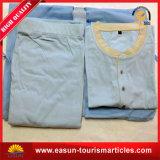 Pijamas de hotel con color azul para uso desechable