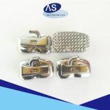 Solos tubos bucales de Roth de la vinculación ortodóntica dental