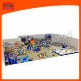 Campo de jogos da corrediça do arco-íris de Mich para o parque de diversões dos miúdos