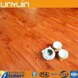 Della colla pavimentazione di legno del vinile del PVC giù per la casa