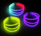 Tri-Glowstick incandescenza del braccialetto di incandescenza più popolare nel braccialetto scuro
