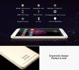 Oukitel U15s 5.5 oro elegante del teléfono del teléfono móvil de la huella digital del teléfono celular de la ROM del androide 6.0 4GB RAM+32GB de Smartphone de la base de la pantalla Mt6750t Octa de la pulgada