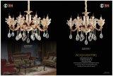 Moda e Die Casting Luz de lustre de luxo de cristal