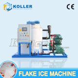 Refroidissement par eau et machine de glace environnementale d'éclaille avec la grande production (30 tonnes/jour)