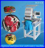 La machine/chapeau principaux de broderie d'ordinateur de la couleur une du meilleur 15 vêtx le prix de machine de broderie
