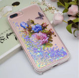 Pretty Fashion Design Flowing Liquid Quicksand TPU Phone Case