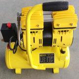 9L 600W Compressor van de 2cylinder de Stille Draagbare Lucht Oilless