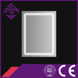 Jnh157 Hot Prix bas Rectangle Salle de bains LED chanfrein bord Mirror
