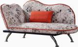 Elegante Chaise met het Been van het Roestvrij staal