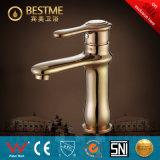 Mélangeur d'or de bassin de couleur d'approvisionnement de la Chine de la salle de bains (BM-B10113R)