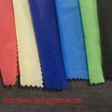 Poliéster liso tingido brilhante da fibra química para o forro do vestido cheio
