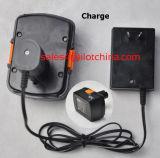 Pulvérisateur chimique de jardin d'alimentation par batterie intrinsèque électrique portative d'Ilot