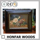 Cornice di legno rustica classica per la decorazione della parete