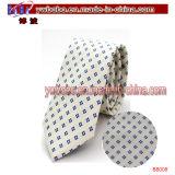 L'école en soie de polyester de cravate attache les accessoires de câble de cravates (B8006)