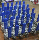 Тип шариковый клапан Турции нержавеющей стали 2PC с DIN