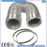 Сделано 2 слоев алюминиевого шума отменяя струбцины