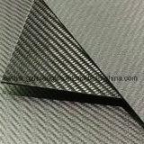 Twill da folha 3k do painel da placa da fibra do carbono Matte/lustroso