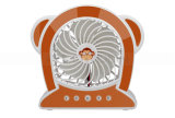 2000mAh Fashion Cartoon Monkey Shape Rechargeable Portable USB Mini Fan Sports Fan