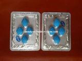 Comprimidos sexuais azuis do sexo do realce dos comprimidos 100mg