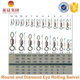 Хорошая прочность и стабилность круглые и шарнирное соединение завальцовки глаза диаманта