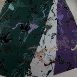 Polyester druckte Satin-Gewebe-Kleid-Fußleisten-Umhüllungen-Kissen-Gewebe