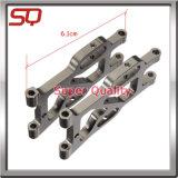 Parti dell'acciaio inossidabile di CNC con il brillamento di sabbia per l'incisione del laser