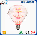 LEDの蝋燭ライトdimmable LED蝋燭の球根の新しい現代ステンドグラスランプE27 LED人工的な塗られたランプ