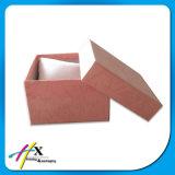 Glänzendes silbernes Papier beschichtete Pappuhr-Kosmetik/Schokoladen-Schmucksache-Geschenk-Kasten